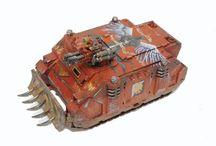 Blood Angel Tanks