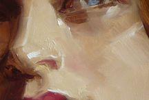 acrylique peinture sujets