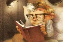 BELLAS ILUSTRACIONES / Preciosas imágenes sobre la lectura