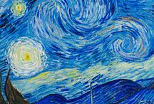"Van Gogh / ""I put my heart and my soul into my work, and have lost my mind in the process."" -V. Gogh"
