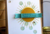 Stampinup cards 2014/5
