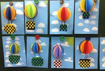 воздушные шары,влздушные змеи
