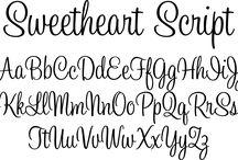 Рукописные шрифты и др. элементы декора / шрифты, как нарисовать, образцы, рисунки, узоры, орнаменты, иероглифы