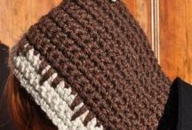 На голову вязаное