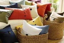 diy pillows / by Brenda Gillis