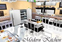 The Sims 4 kitchen downloads