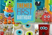 1st B'day / Liam's first birthday ideas