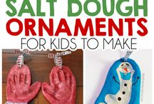 Best Salt Dough Xmas Decorations / We've selected the best, easiest and festive salt dough decorative ideas for you and the kids to enjoy this Christmas!