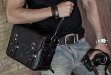 Leather Camera Bag - KAWA Urban Pro / The Classic Satchel in one beautifully handcrafted camera bag. You can have your name engraved on it too :) www.kawaprogear.com