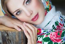 Russian style fashion