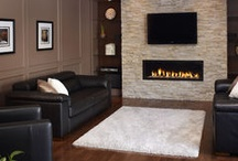 Fireplace Inspiration / Ideas on Designing and Decorating Fireplaces / by Design Ideas By Rhonda & Avant Garde-Curry Interiors