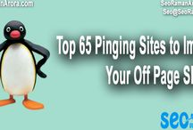 Top 65 Pinging Sites to Improve Your Off Page SEO