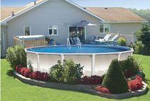 Backyard / A practical and pretty backyard / by Tina Davis