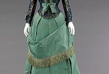 (1858-1956) House of Worth Dresses / Dresses from the House of Worth.