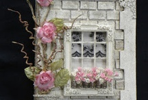 paper window decoration for cards
