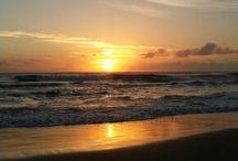 Landscapes, Sunrises, Ocean