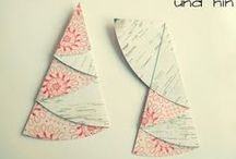 tannenbäume aus papier