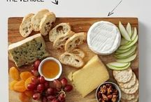 Cheese platters....