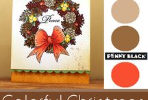 Colorful Christmas 2013 / by Penny Black
