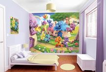 Tapet Camera Copilului Walltastic / Tapet si decoratiuni interioare pentru camera copilului.
