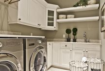 laundry room ideas / by Jules Hart