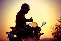 motosiklet! / güneşi yollarda batırmanız dileğiyle günaydın.