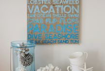 Beach/Coastal chic (2) / by winifred Andre