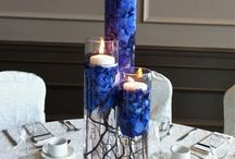 blue wedding flowers + decor  / by Sophisticated Floral Designs