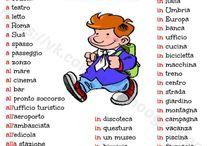 verbi e preposizioni