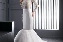 Mermaid wedding dress / Affordable mermaid wedding dresses by European designer! Buy at ElodyWedding.com