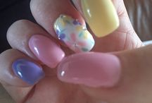 Some of my fab nails (created by The Nails Place, Thornton)