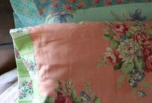 Ideas For My Vintage Fabric Stash / by Amy Rogers