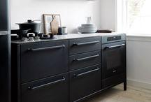 INTERIOR/ Kitchen/ Black & White