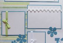 First Mother's Day scrapbook page