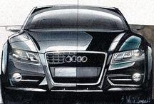 Dessin Audi