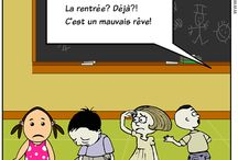 Teaching French: la rentrée et les vacances