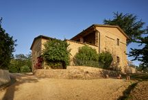 i pini, Tuscany, Italy / i pini - a entirely vegan agriturismo in Tuscany. Everything is vegan, from the kitchen to interior design and architecture.