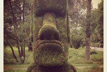 Unusual Yard Art