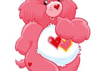 Carebears / What I loved when I was five years old, I still love with all my heart today, 21 years later.
