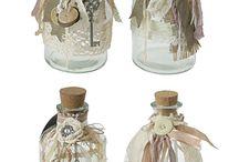 μπουκάλια γυάλινα