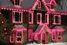 House Xmas lighting
