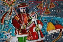 Новогодние открытки Рождество