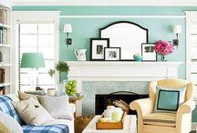 Decorating tips for mantels and mirrors / Decorating tips to create an awesome mantel or add reflective light with mirrors / by Lana Artz- Prine