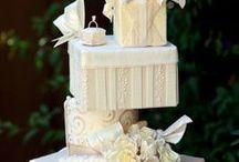 emeletes szögletes torták