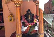 GANESHA / Our little temple in the production office of Opalien