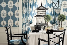 Pattern 101: Toile v's Chinoiserie