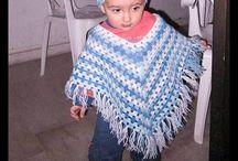 Hoodiegan crochet ponchos