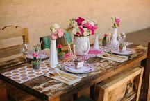 Tables + Vignettes / by Michelle @ Ten June