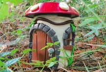fairy houses solar light