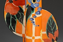 Bizarre! / Fabulous colour, pattern and ceramic design by Clarice Cliff. Rich and inspirational.
